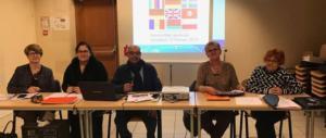 Assemblée générale du comité de coordination des amicales des villes jumelées de Nevers en présence de Nadia SOLLOGOUB en date du 15 février 2019