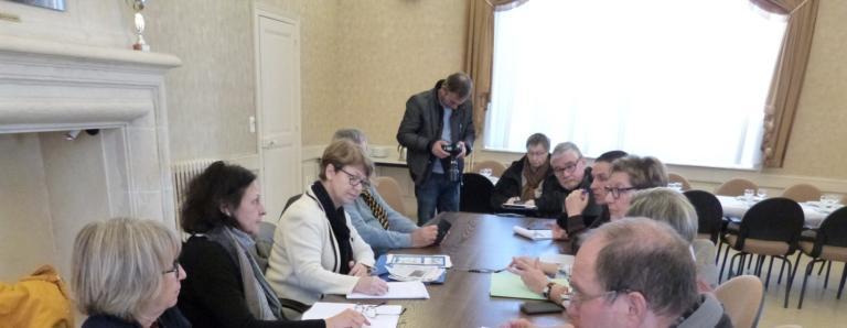 Rencontre des élus d'Imphy et de Nadia SOLLOGOUB le 18 février 2019