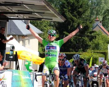 Course cycliste dans le département de la Nièvre