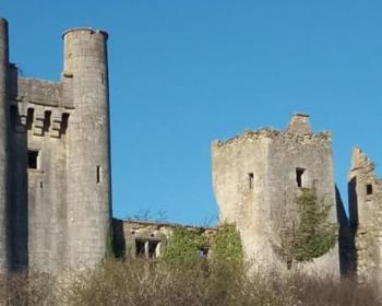 Les tours de Passy sur la commune de Varennes-lès-Narcy