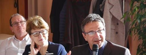 Nadia SOLLOGOUB lors du déjeuner débat organisé par la Mutualité Française à Nevers le 18 mars 2019
