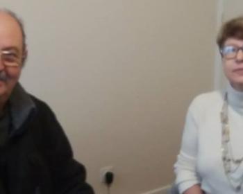 Nadia SOLLOGOUB et Patrice PAPILLON président de la Croix-Rouge de Cosne-sur-Loire