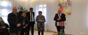 En Présence de Nadia SOLLOGOUB, passage d'Agnès BUZYN et de Jacqueline GOURAULT à La Machine le 15 février 2019 suite à la signature du Pacte Territorial pour la Nièvre