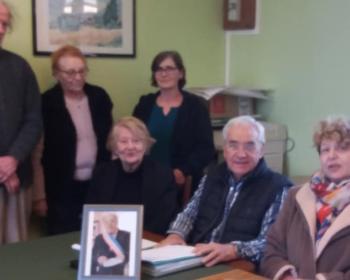 Nadia SOLLOGOUB et le conseil municipal de Parigny-La-Rose