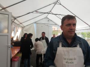 les organisateurs du marché aux vins de Charrin