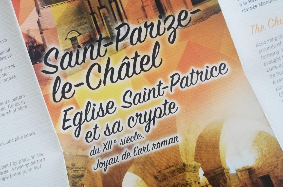 Extrait du prospectus de l'église de Saint-Parize-le-Châtel