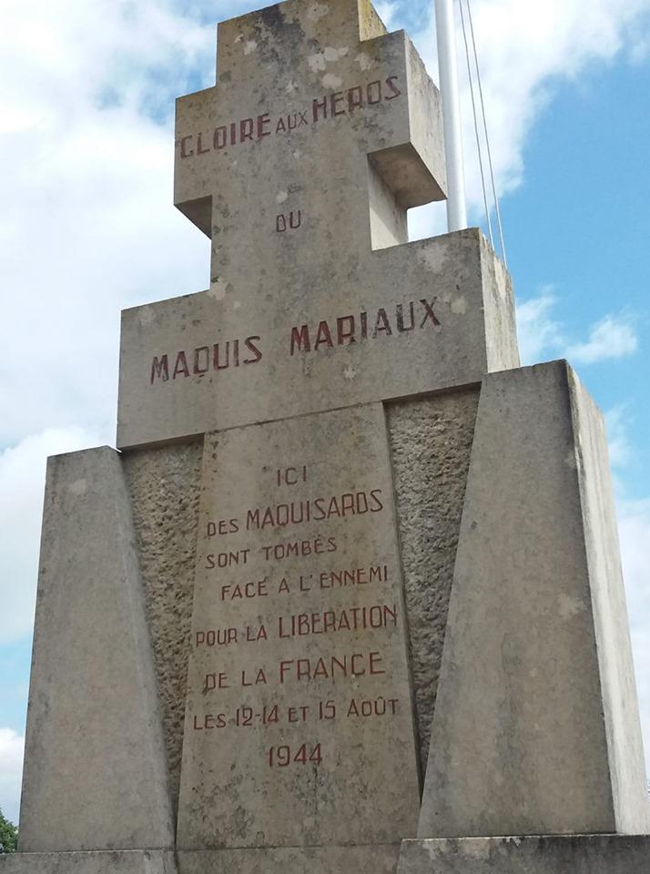 Monument du Maquis Mariaux à Crux-la-Ville