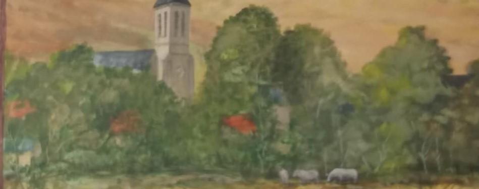 Paysage peint de la commune de Grenois