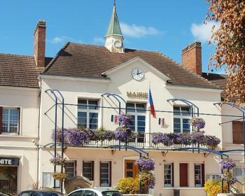 façade de la mairie de Neuvy-sur-Loire