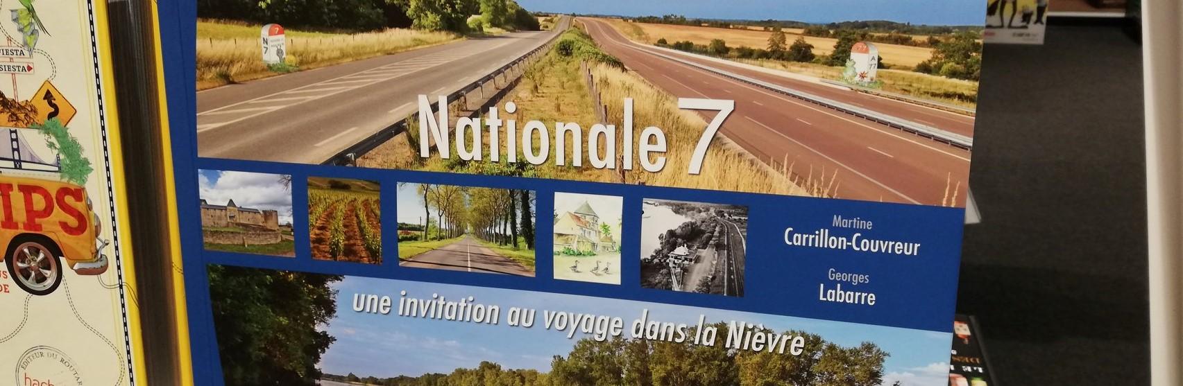 """couverture du livre """"nationale"""" une invitation au voyage dans la Nièvre"""