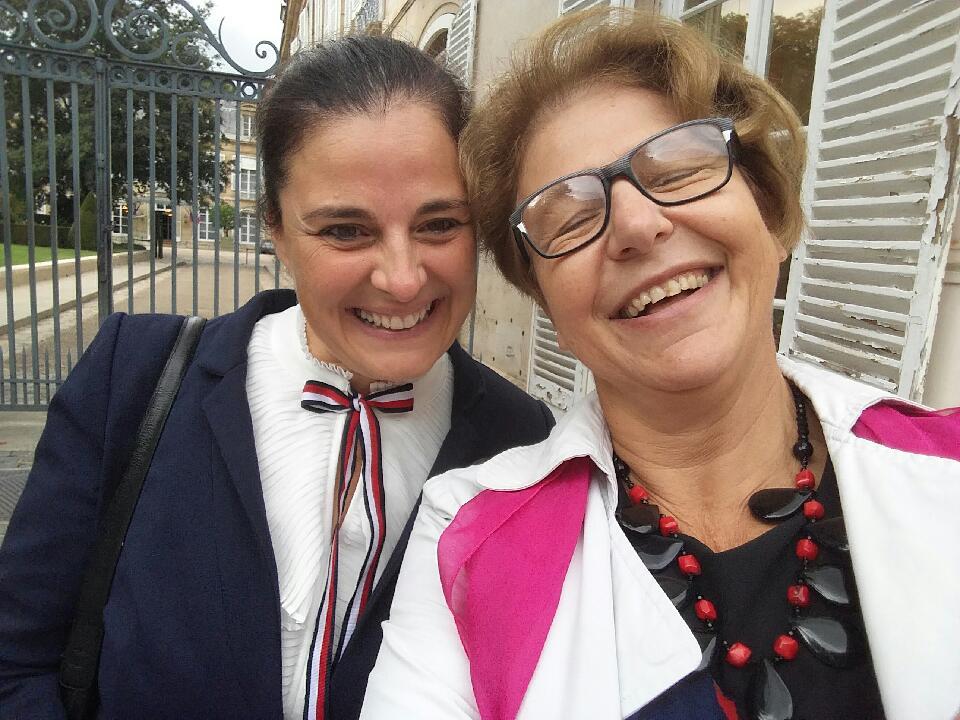 Nadia SOLLOGOUB et Sandrine HULOT le mercredi 2 octobre 2019 à Paris