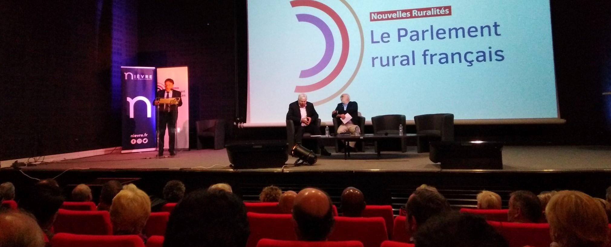 Première réunion du parlement rural français à Magny-Cours le mardi 15 octobre 2019