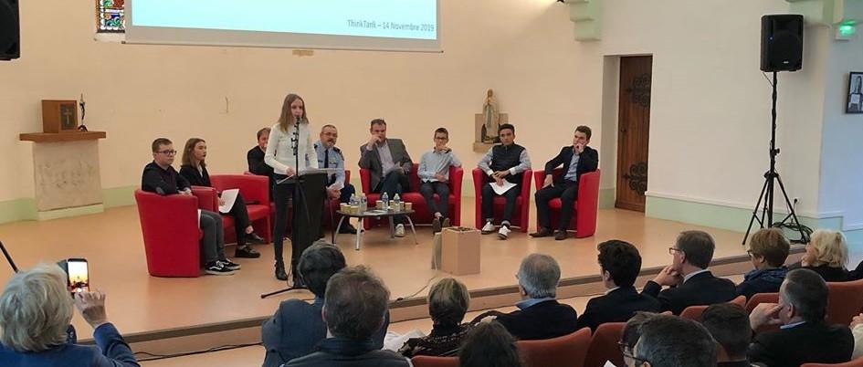 Conférence-Débat du Centre Scolaire Notre-Dame à Nevers le jeudi 14 novembre 2019 sur les enjeux de la cybersécurité