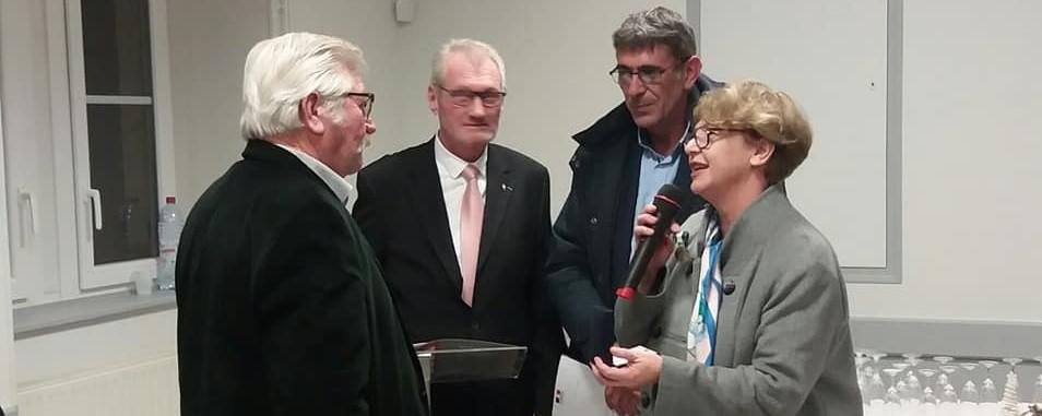 Nadia SOLLOGOUB à la cérémonie des voeux de Mars-sur-Allier le samedi 4 janvier 2020