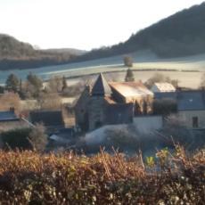 vue sur le village de neuffontaines
